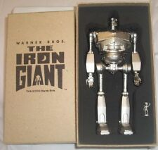 The Iron Giant Jointed Metal Clock Rare Silver finish Collectible new