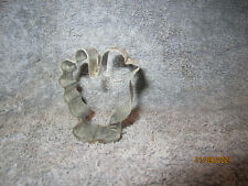 Small Tin Small Turkey Cookie Cutter