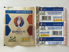 POCHETTE PANINI ROAD TO UEFA EURO 2016 FRANCE STICKERS PACKET BUSTINA VERSION
