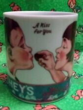 Hershey's Kisses  Coffee Mug Cup by Shafford Japan A Kiss For You Vintage 1979 !