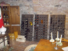 Very Old Champagne Riddling Rack for 60 Wine Bottles Big Oak Winerack 1A QUALITY