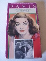 ALL ABOUT EVE (VHS) BETTE DAVIS, ANNE BAXTER, GEORGE SANDERS, 1950, 1988 FOX