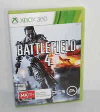 Battlefield 4 (Microsoft Xbox 360, 2013) VGC