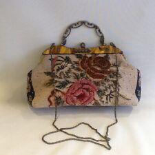 BUTLER & WILSON Beaded Carpet Bag / Handbag