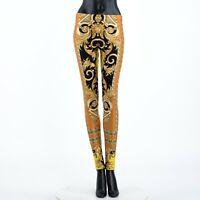 VERSACE 650$ Savage Barocco Print Leggings
