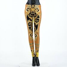 VERSACE 650$ Savage Barocco Print Leggings