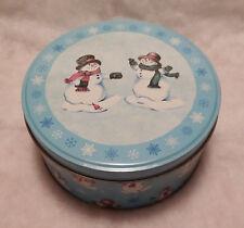 Snowpeople Tin Music Box - Let It Snow