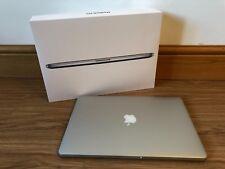 """Apple MacBook Pro Retina Display 15.4"""" Coffret en excellent état"""