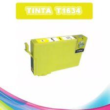 TINTA AMARILLA T1634 T16XL COMPATIBLE IMPRESORAS NONOEM EPSON CARTUCHO AMARILLO