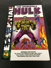 Essential Marvel Comic Vol 4 Hulk 143-170 ,
