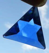 SIBERIAN TIBETAN High Altitude BLUE QUARTZ  STAR OF DAVID VOGEL PENDANT REIKI
