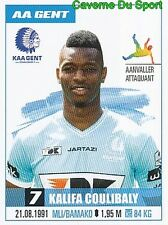 133 KALIFA COULIBALY MALI KAA.GENT PSG STICKER PRO LEAGUE 2017 PANINI