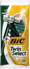 BIC Twin Select, Sensitive Skin, Disposable Shaver for Men, 10-Count