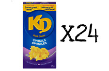 24 - 175g Boxes KD Spirals KRAFT DINNER Canadian Made FRESH