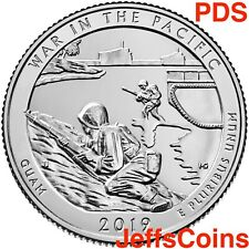 2019 P D S War In The Pacific Guam Island Park Quarter PDS Try W Mint ATB Best 3