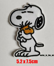 Snoopy dog Iron On / Sew On Patch Badge