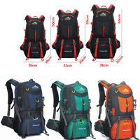 40-60L Large Capacity Backpack Shoulder Bag Breathable Waterproof Outdoor Hiking