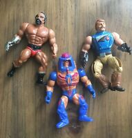 HE-MAN Lot of 4 Vintage MOTU Action Figures Masters of the Universe Mattel 1980s