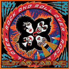 Kiss Digital Guitar Tab ROCK AND ROLL OVER Lessons Disc Ace Frehley Paul Stanley