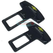 2pcs Metal Seat Belt Buckle Safety Alarm Clasp Stopper Eliminator For USA Car