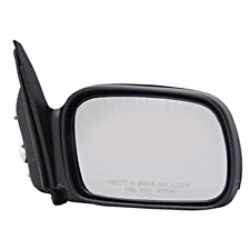 Fits 06-11 Civic Coupe Right Passenger Mirror Power Non-Painted Black No Heat