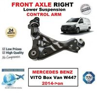 FRONT AXLE RIGHT Lower Wishbone ARM for MERCEDES BENZ VITO Box Van W447 2014->on