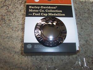 HARLEY DAVIDSON MOTOR CO FUEL GAS CAP LOGO MEDALLION SOFTAILS FLSTS SOME TOURING
