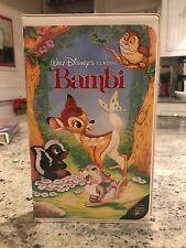 Bambi (VHS) Black Diamond The Classics