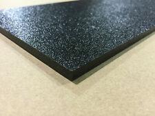 BLACK ABS PLASTIC SHEET 1/8