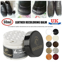 EIDECHSE LEATHER RECOLOURING BALM CREAM RESTORER SOFA CHAIRS 10 COLOURS 50ml UK