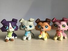 4pcs Littlest Pet Shop LPS Dachshund Doy Short Hair Cat Toy #325 #391 ##932 Rare