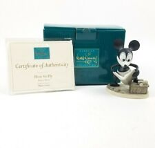 "WDCC ""How to Fly"" Mickey Mouse from Disney's Plane Crazy in Box with COA"
