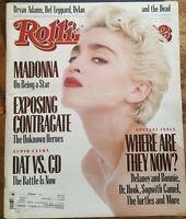 MADONNA Rolling Stone Magazine September 10, 1987 9/10/87 #508 STAR