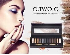 Brand New Sealed Eyeshadow Palette 12 shades Blacks, Golds, Browns with Brush