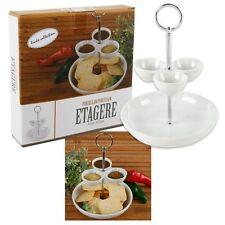 Etagere Porzellan für Snacks und Dips Dipschale Snackschale Hochzeitsdekoration