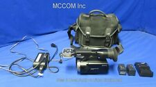 Sony NEX-VG10 E-Mount Handycam Camcorder w/ Adapter, Charger, NO Lens