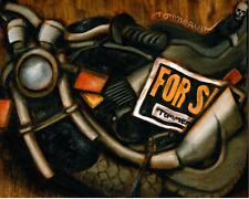 Tommervik Used Motorcycle For Sale Motorbike Biker Motorcycles Skull Art Print