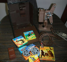 VINTAGE REVERE DE LUXE MODEL 85 8MM MOVIE FILM PROJECTOR PLUS EXTRAS MADE IN USA