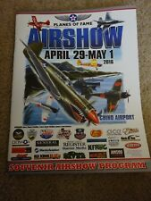 PLANES OF FAME AIRSHOW PROGRAM APRIL 29-MAY1 2016