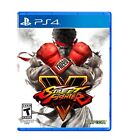 PLAYSTATION 4 PS4 GAME STREET FIGHTER V 5 BRAND NEW AND SEALED