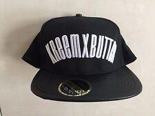 KREEM X BUTTER BASEBALL CAP - FLAT PEAK - BLACK - ONE SIZE **NEW**
