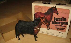 """Breyer Traditional """"Justin Morgan"""" No. 65 / 1977-1986, H: 22,5 cm, OV"""
