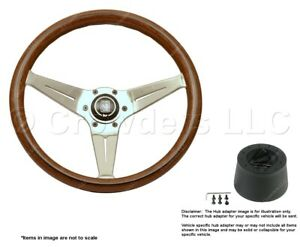 Nardi Deep Corn 350mm Steering Wheel + Hub for Ford 5069.35.3000 + .8503