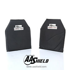 AA Shield Bulletproof Soft Panel Body Armor Aramid Plate Lvl IIIA3A 10x12#2 Pair