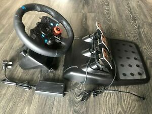 Logitech G29 Racing Wheel and Pedals for Sony Playstation PS4 PS3 and PC