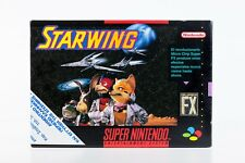 SUPER NINTENDO STARWING SUPER FX 1993 RARE VIDEO GAME PAL VERSION BIG POSTER