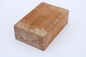 Fava Amargosa Bowl Knife Call Cue Exotic Wood Turning Blank Lumber 2 x 4 x 6¨