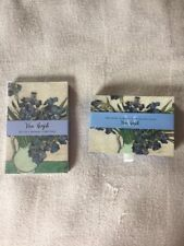 "VAN GOGH IRISES & OLEANDERS DOUBLE DECK BRIDGE SET WITH SCORE PADS  ""NEW"""