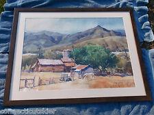 George Gibson,Canyon, Santa Barbara area,California,Horses,Famous Western Artist
