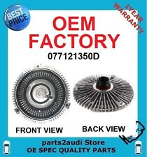 NEW AUDI A6,A8,RS6,S6,S8 RADIATOR COOLING FAN CLUTCH  077121350D